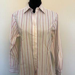 Brooks Brothers non-iron striped shirt